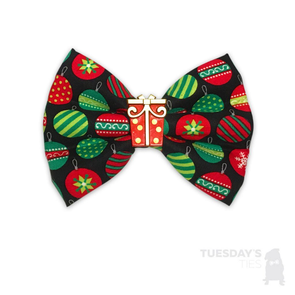 holiday bow ties for dogs
